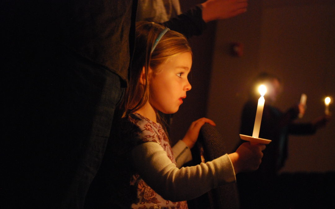 Serve at Community Candlelight Services