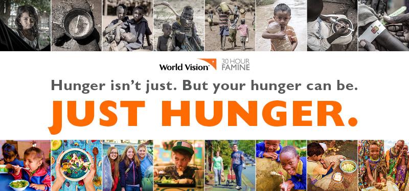 30 Hour Famine Registration
